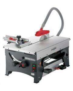 Mafell - Erika 85 Ec + roltafel +bladverbreding + bevestigingsrail 1000mm + aanslagliniaal 1000mm + spanenopvangsysteem cleanbox