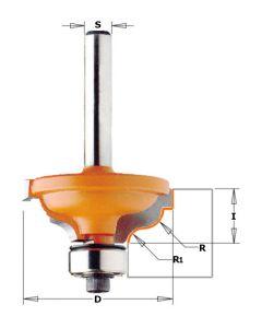 CMT profielfrees 34,2 mm dubbele radius 4,8-3,6