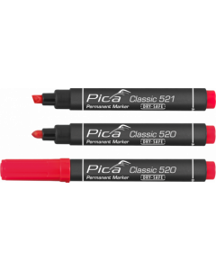 Pica 520/40 Permanent Marker 1-4mm rond rood